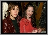 Anna Popplewell, William Moseley, Aktorzy