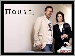 Dr. House, Hugh Laurie, Sela Ward