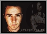 Edward Norton, oczy, opalony