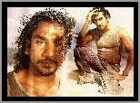 Serial, Lost, Zagubieni, Naveen Andrews, plaża