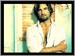 Serial, Lost, Zagubieni, Josh Holloway, stare, mury