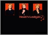 Heath Ledger,blond włosy
