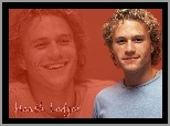 Heath Ledger, niebieski sweterek
