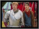 Serial, Przygody Merlina, The Adventures of Merlin, Merlin - Colin Morgan, Artur - Bradley James