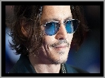 Johnny, Depp, Okulary, Aktor