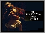 Gerard Butler, Emmy Rossum, pocałunek, Phantom Of The Opera