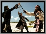 piraci_z_karaibow_2, Orlando Bloom, Johnny Depp, szabla, piraci