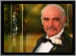 Sean Connery,czarny garnitur