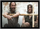 Serial, Żywe trupy, The Walking Dead, Rick Grimes, Daryl Dixon, Aktorzy, Andrew Lincoln, Norman Reedus