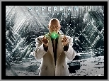 Superman Returns, Kevin Spacey, światełko, łysy