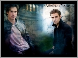 Pamiętniki wampirów, The Vampire Diaries, Ian Somerhalder, Paul Wesley