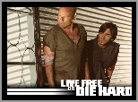Live Free Or Die Hard, Justin Long, Bruce Willis